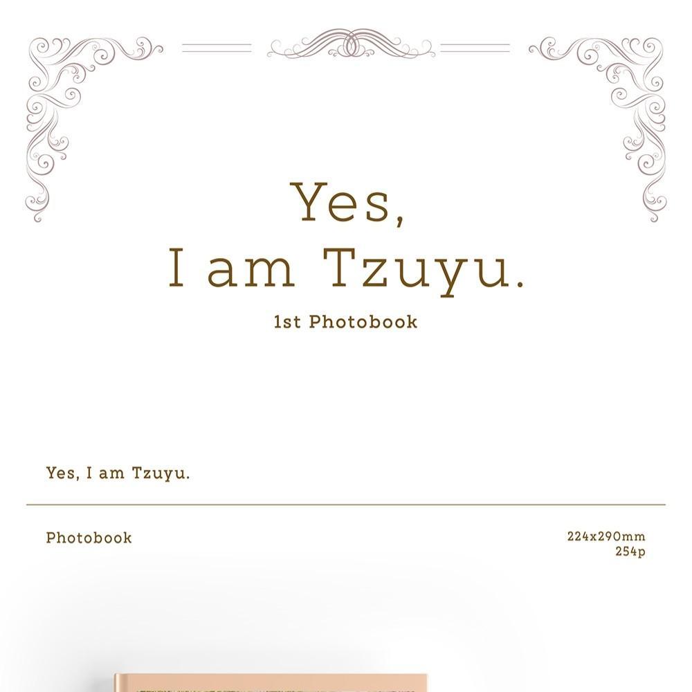 """[MYGO][PREORDER] TZUYU 1ST PHTOBOOK-""""YES I AM TZUYU"""""""