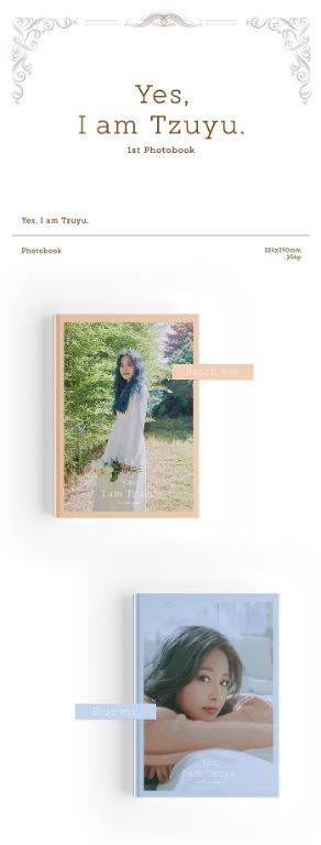 [Pre-Order] [Photobook] Tzuyu - 1ST PHOTOBOOK [Yes, I am Tzuyu] + Free GIft!!!