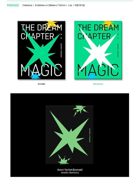 [Pre-Order] TXT - Album Vol.1 [The Dream Chapter : MAGIC][LIMITED POSTER AVAILABLE]