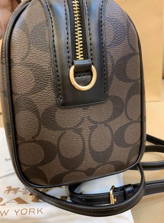 Ready Stock authentic 32203 women mini Bennett monogram sling bag handbag promotion