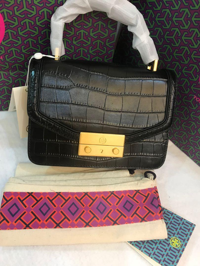 Ready Stock authentic Tory Burch Juliette Top Handles bag