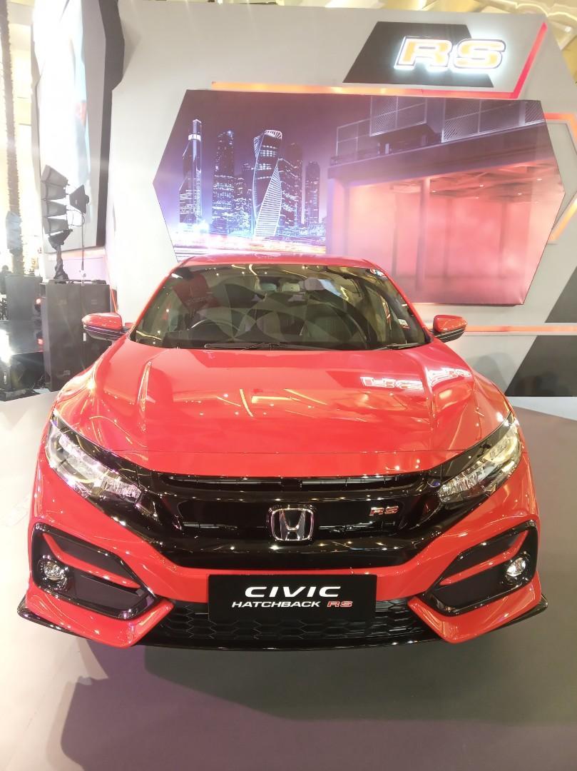 Ready Stock New Honda Civic Hatchback RS Free Voucher belanja & E-Toll 1 juta