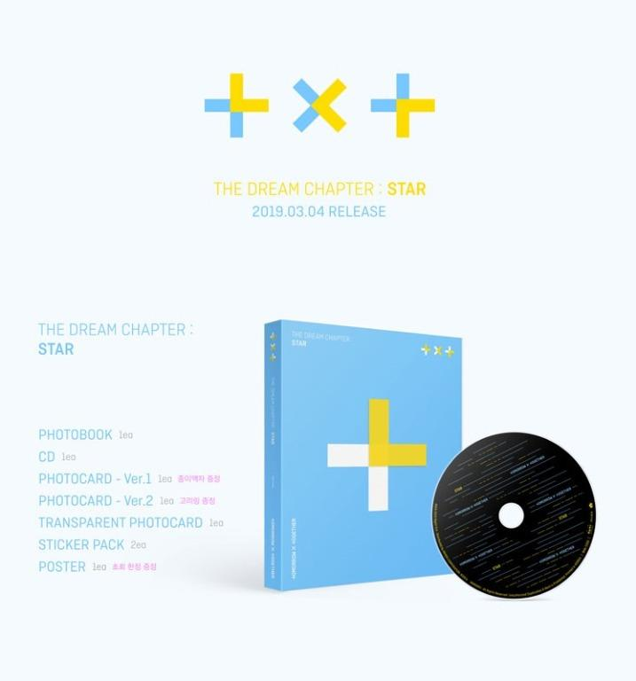 Share:  0 [Pre-Order] TXT- Debut Album [The Dream Chapter : STAR]