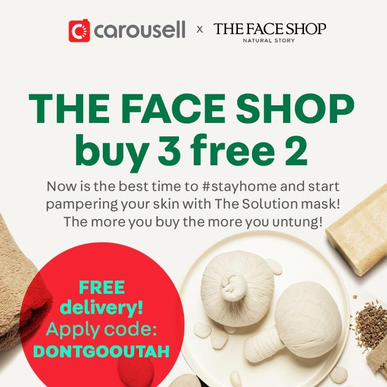 THE FACE SHOP Buy 3 Free 2