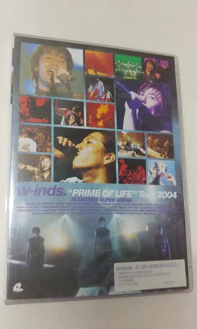 w-inds. Prime of Life Tour 2004 VCD