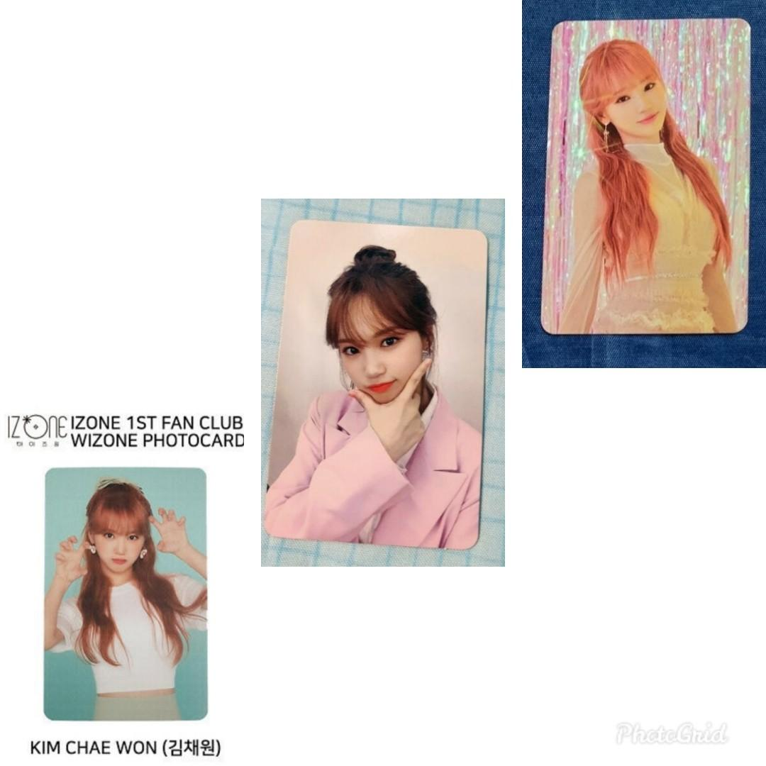 WTB WTT izone iz*one bloomiz bloom*iz eyes on me fanclub chaewon