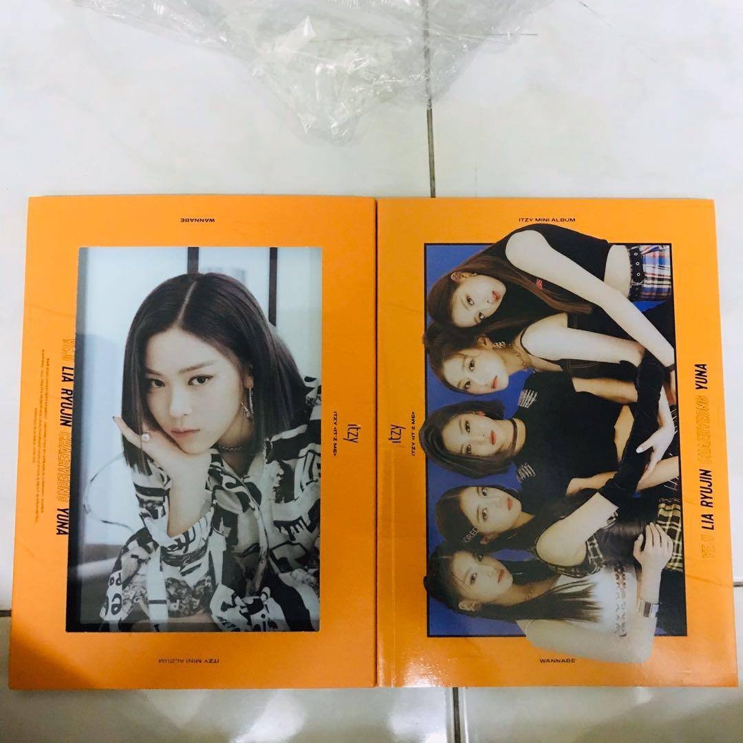 [WTS] Itzy It'z Me Unsealed Album with Ryujin Cover (Me Ver.)