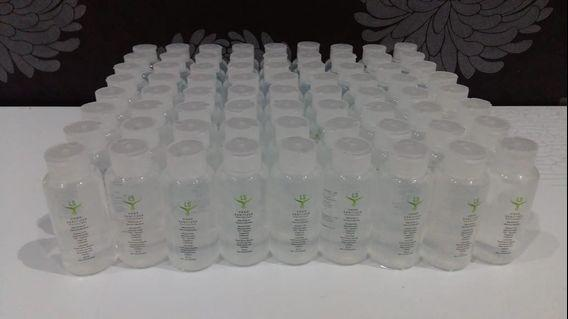 Ready stock Hand Sanitizer (gel dan cair) Travel size 60ml x 5 pcs.