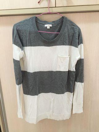 Gap條紋針織衣