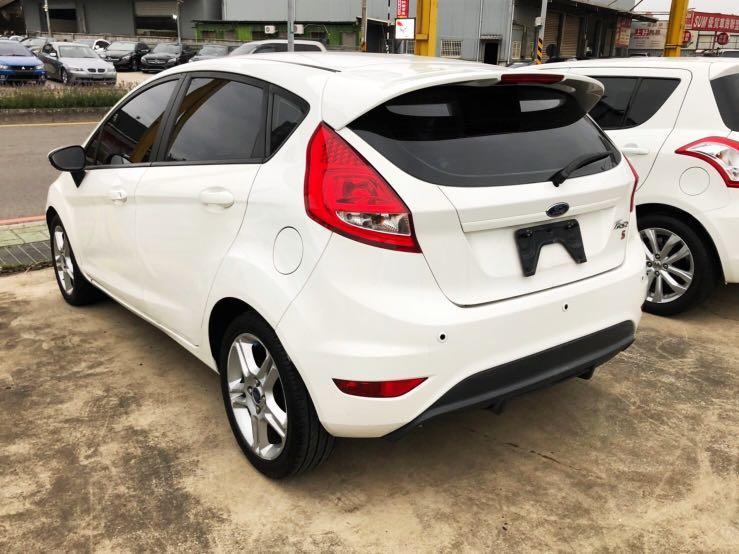 2012福特 Fiesta 1.6低🈷️付 6999全額貸