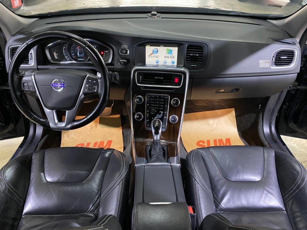 正2014年出廠 大改新款總代理 Volvo S60 1.6T4 旗艦款