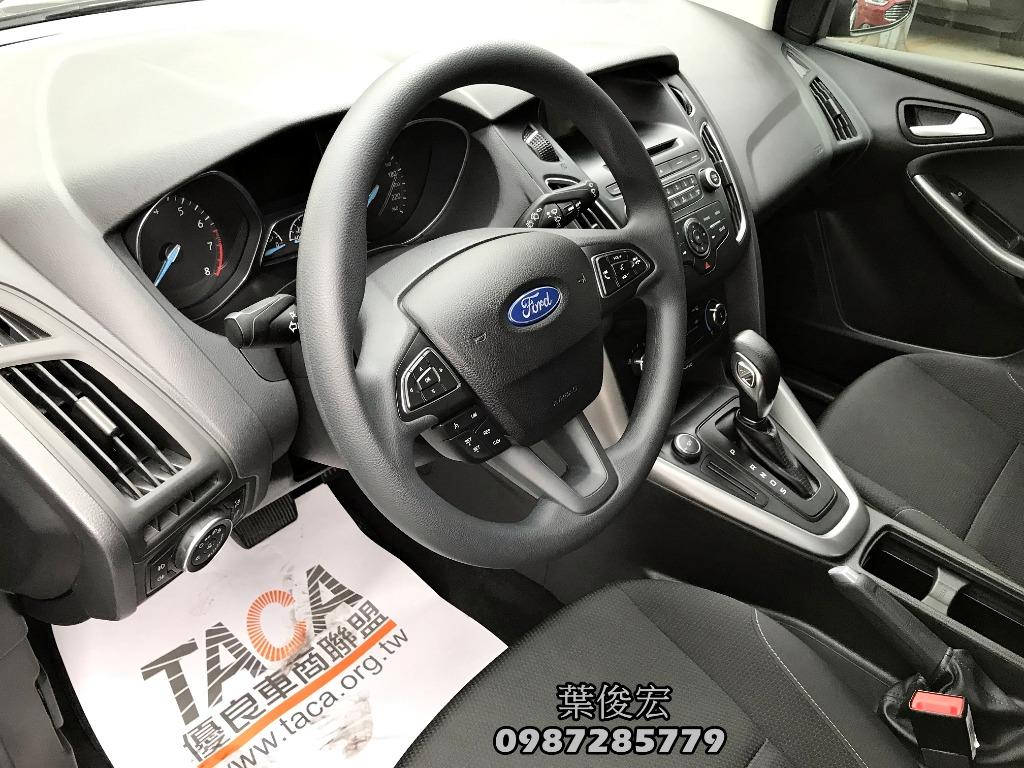 福特原廠認證中古車2017年Ford Focus 1.6汽油五門 安全代步車首選 原廠認證保固