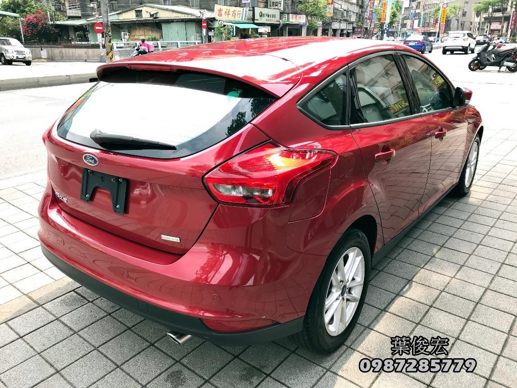 福特原廠認證中古車2017年Ford Focus EcoBoost 1.5汽油渦輪五門 MK3.5 里程八千公里 原廠認證保固