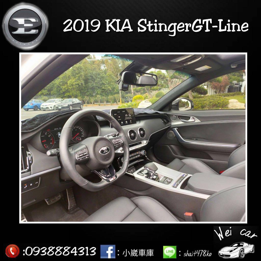 2019 Stinger GT-Line 稀有釋出...!