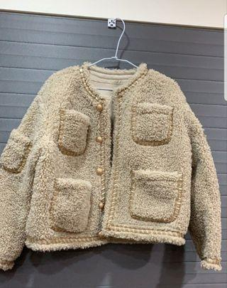 韓版🇰🇷香奈兒泰迪熊外套