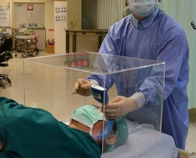 Customized Acrylic clear box, aerosol protective device,  display box