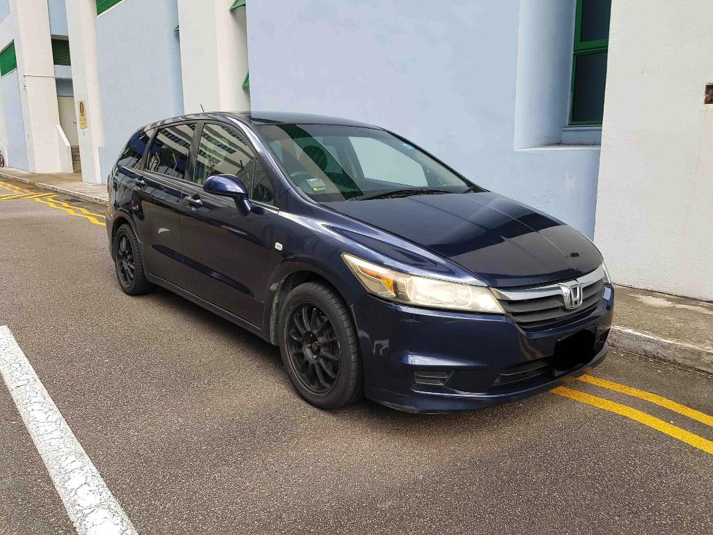 $350/week , Honda Stream , Cheapest 7 seater MPV car rental for private hire , grab , personal use