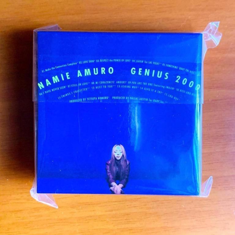 [全新] 安室奈美惠(安室奈美恵)NAMIE AMURO「GENIUS 2000」PLAY BUTTON