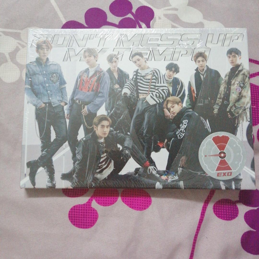 ( SEALED ) EXO DON'T MESS UP MY TEMPO LIMITED VER VIVACE