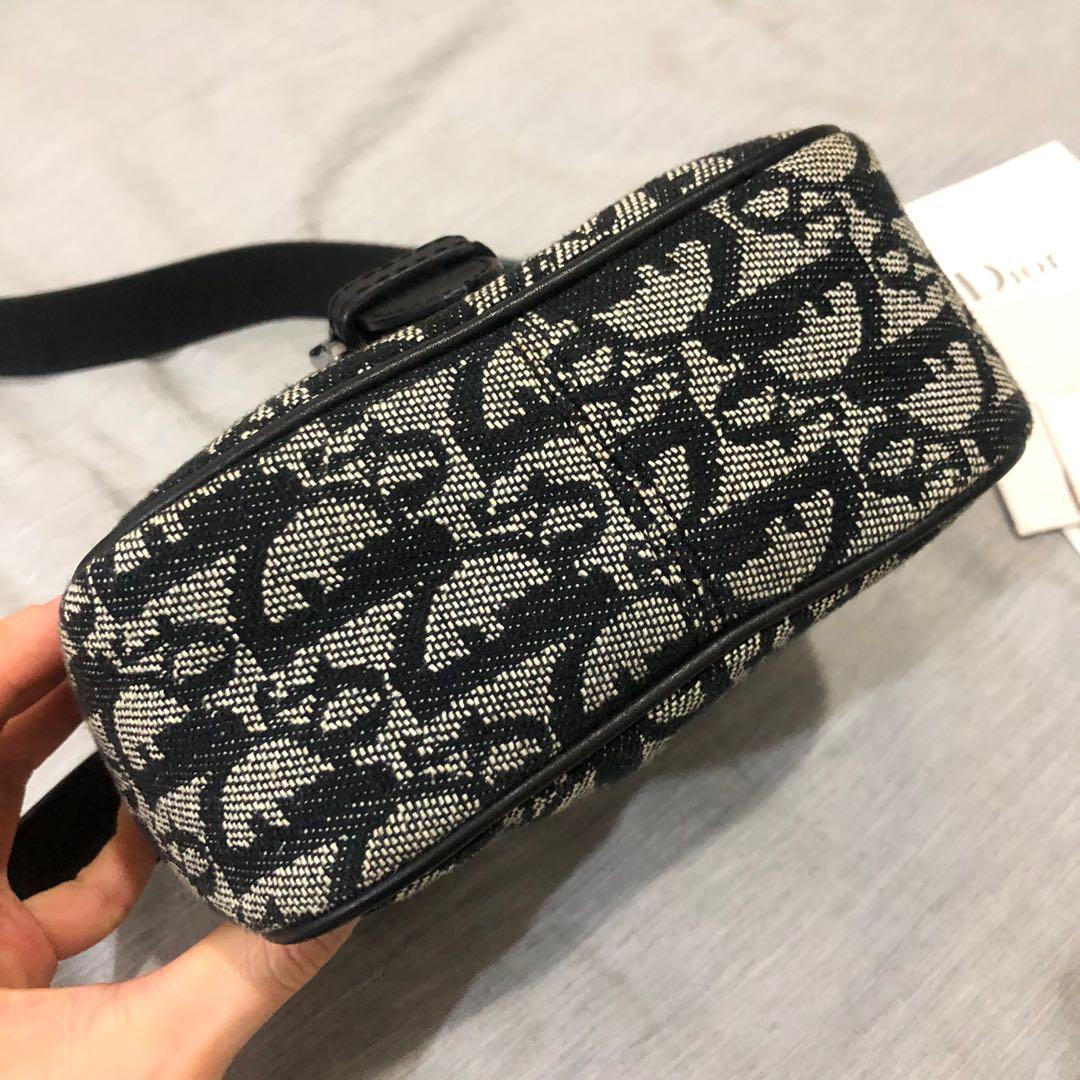 Authentic Christian Dior oblique saddle mini crossbody sling bag original