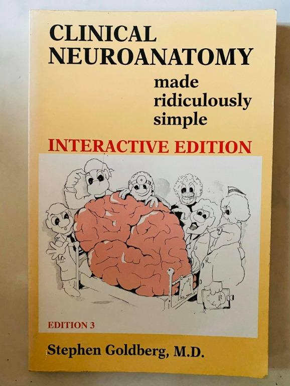 Clinical Neuroanatomy Made Ridiculously Simple MRS 3rd Edition - Cheap Medical Books RUSH