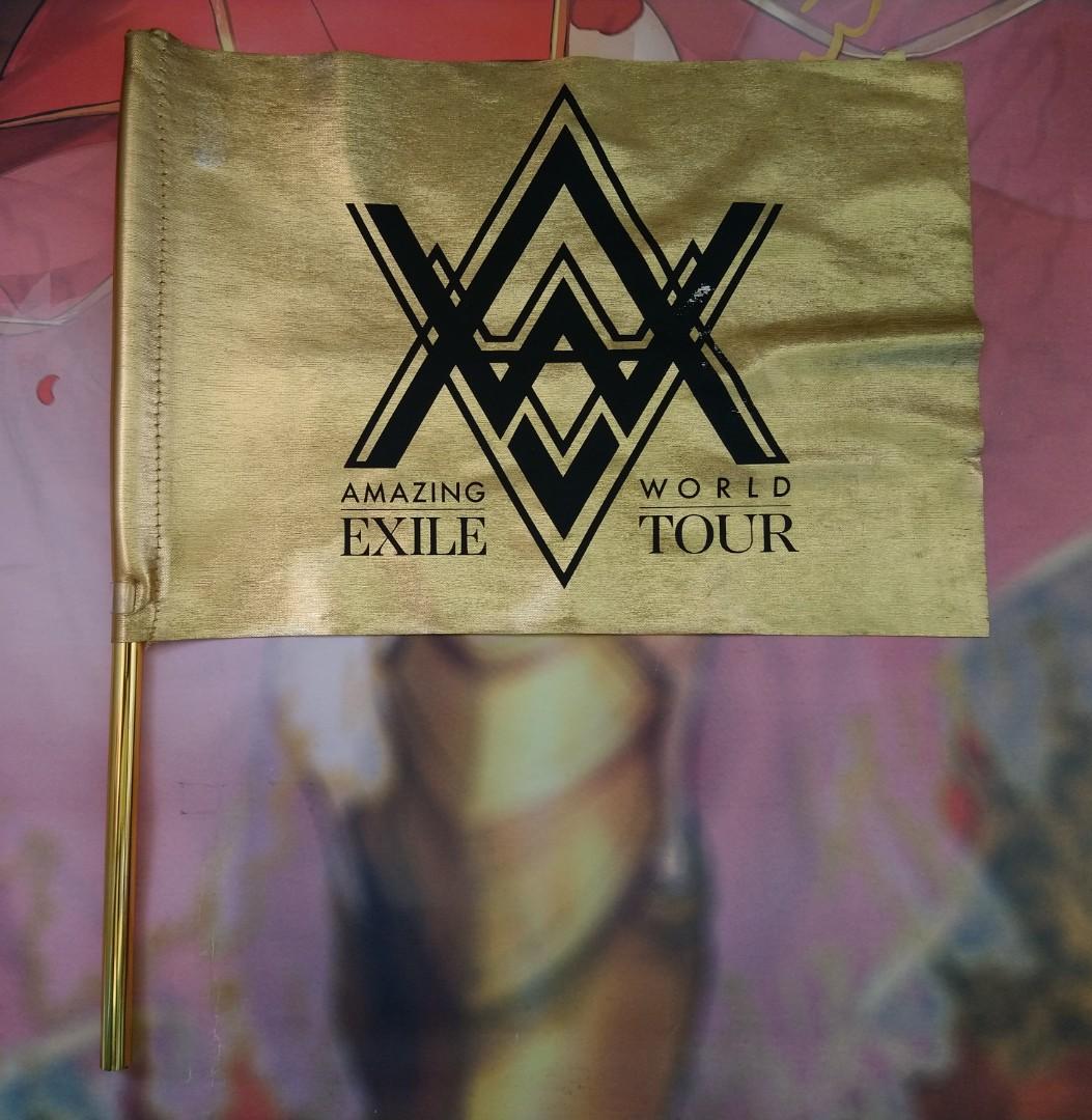 EXILE/AMAZING WORLD TOUR-FLAG(Official Concert Collectibles item)