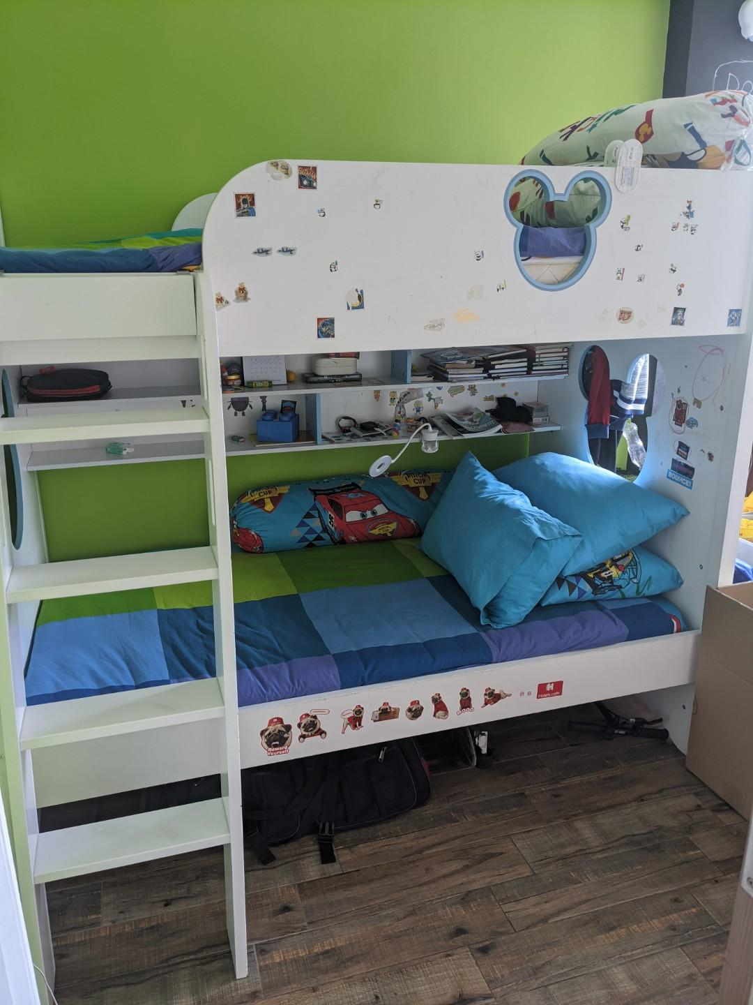 Picture of: Free Bunk Bed For Kids Including Mattresses Furniture Beds Mattresses On Carousell
