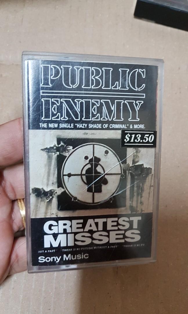 Greatest misses public enemy 1992cattetts keset  sony music