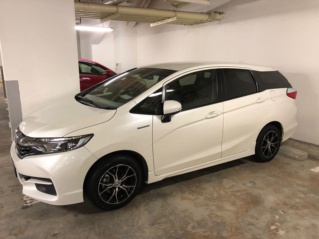 Honda Shuttle Hybrid PHV Relief driver needed yishun grab gojek tada