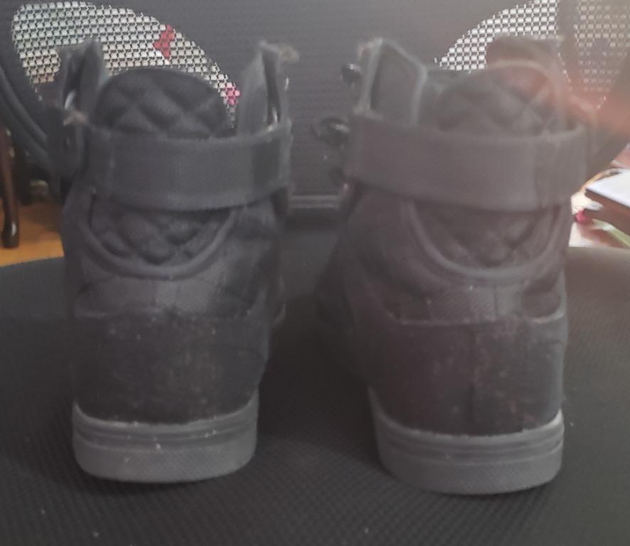 Jordan Shoes Black/Pink Size 6 $30 and Vlado Shoes Size 5.5 $30