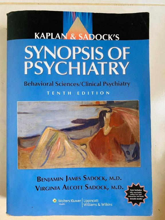 Kaplan and Sadock's Synopsis of Psychiatry 10th Edition - Cheap Medical Books RUSH