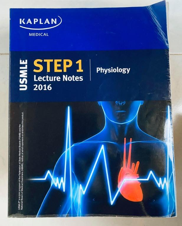 KAPLAN USMLE Lecture Series 7 Book SET ONLY - Original - Cheap Medical Books RUSH