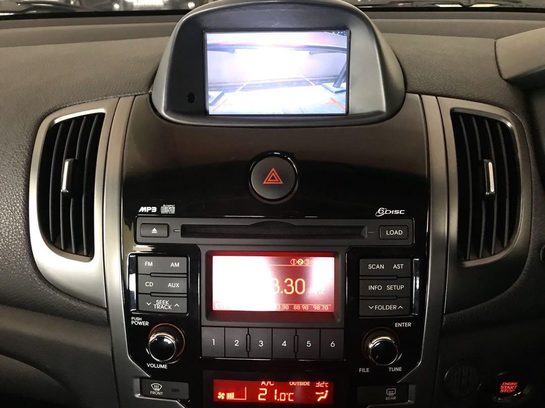 Kia Cerato Forte Koup 1.6A Sx Sunroof New 5year Coe Auto