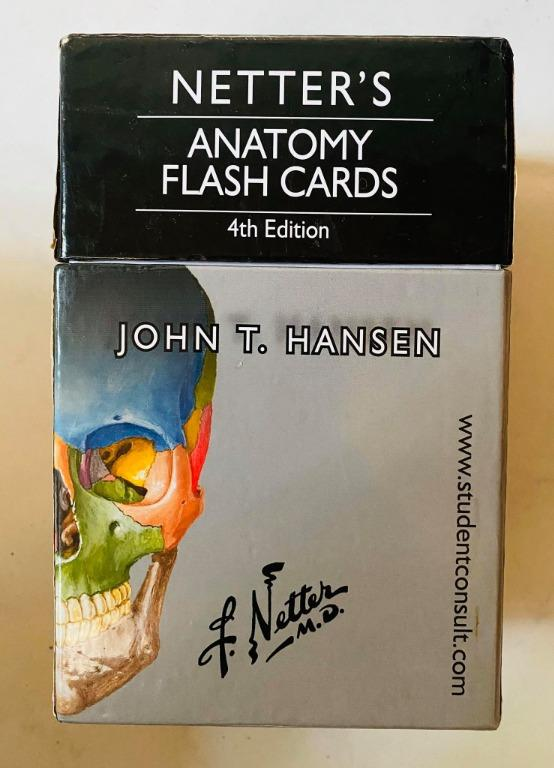 Netter's Anatomy Flash Cards: with Online Student Consult Access 4th Edition - Cheap Medical Books / Reviewer RUSH