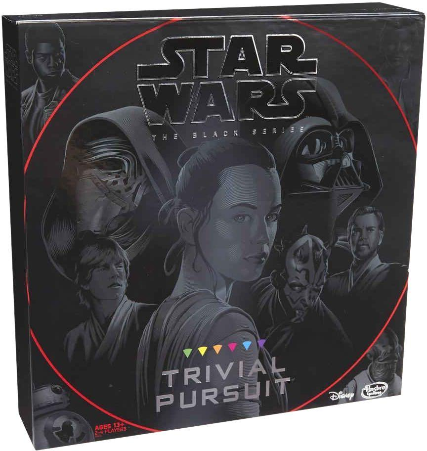 NEW! Trivial Pursuit: Star Wars The Black Series Edition