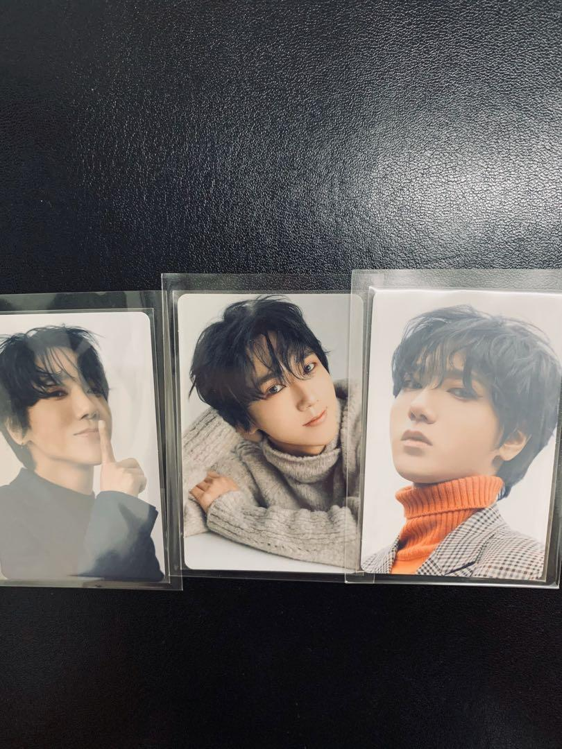 Super Junior Yesung Japanese Album STORY Photocard