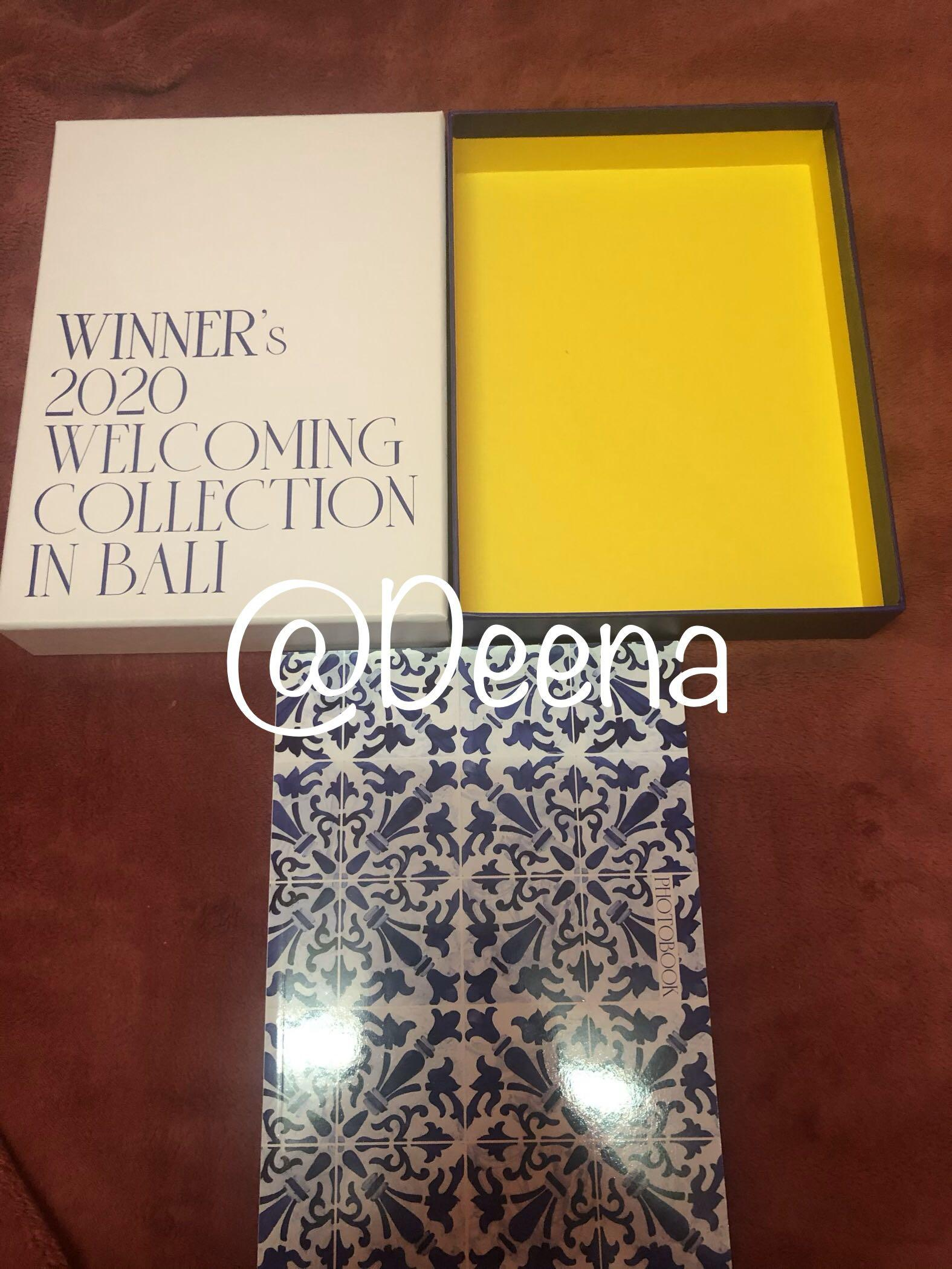 WINNER - 2020 WELCOMING COLLECTION [IN BALI] (All Package) URGENT NEED TO SELL IT FAST😭🙏🏻🙏🏻🙏🏻🙏🏻