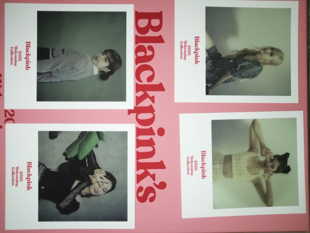 【WTS】BLACKPINK 2020 WELCOMING COLLECTION PHOTOCARD AND POLAROID