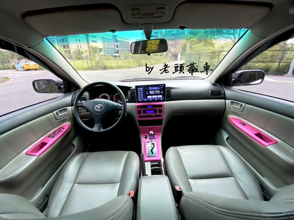 2001 Toyota Altis 全新漆面、全新皮椅、10.2吋安卓機、可調避震