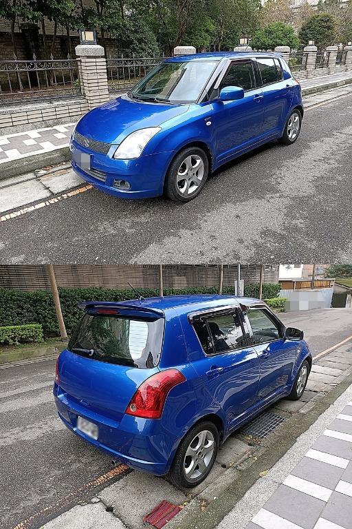 2005年 SUZUKI SWIFT 1.5藍色 GLX頂級