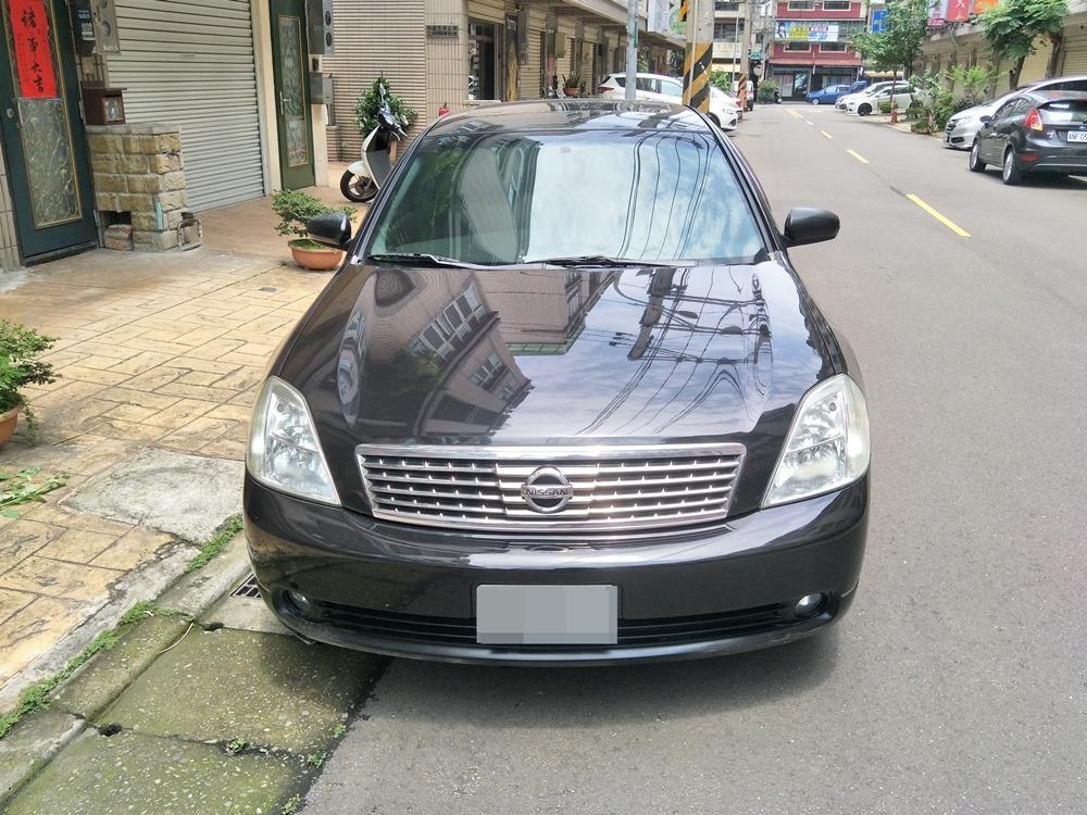 2006 TEANA 鐵安娜 2.3 黑色 (漂亮車)
