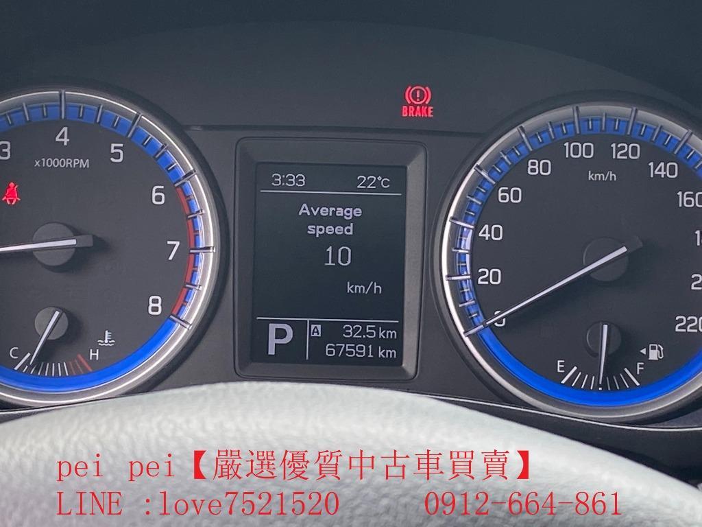 2015年 鈴木SX4陽春 排氣量1.6 藍 桃園市, ·
