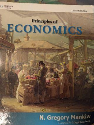#開學季 經濟學原理 Principles of Economics 經濟學原文書