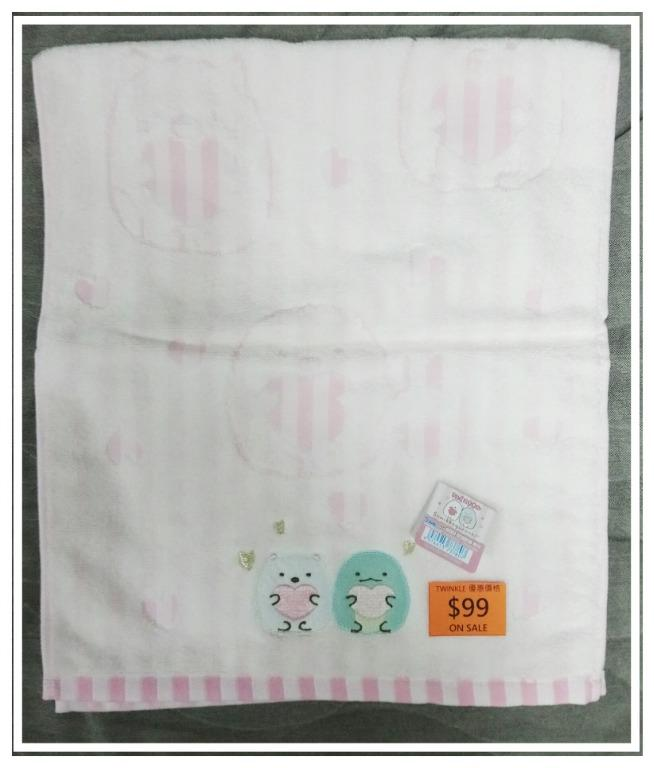 角落生物 1300Yen 33x80cm 中型毛巾 特價發售