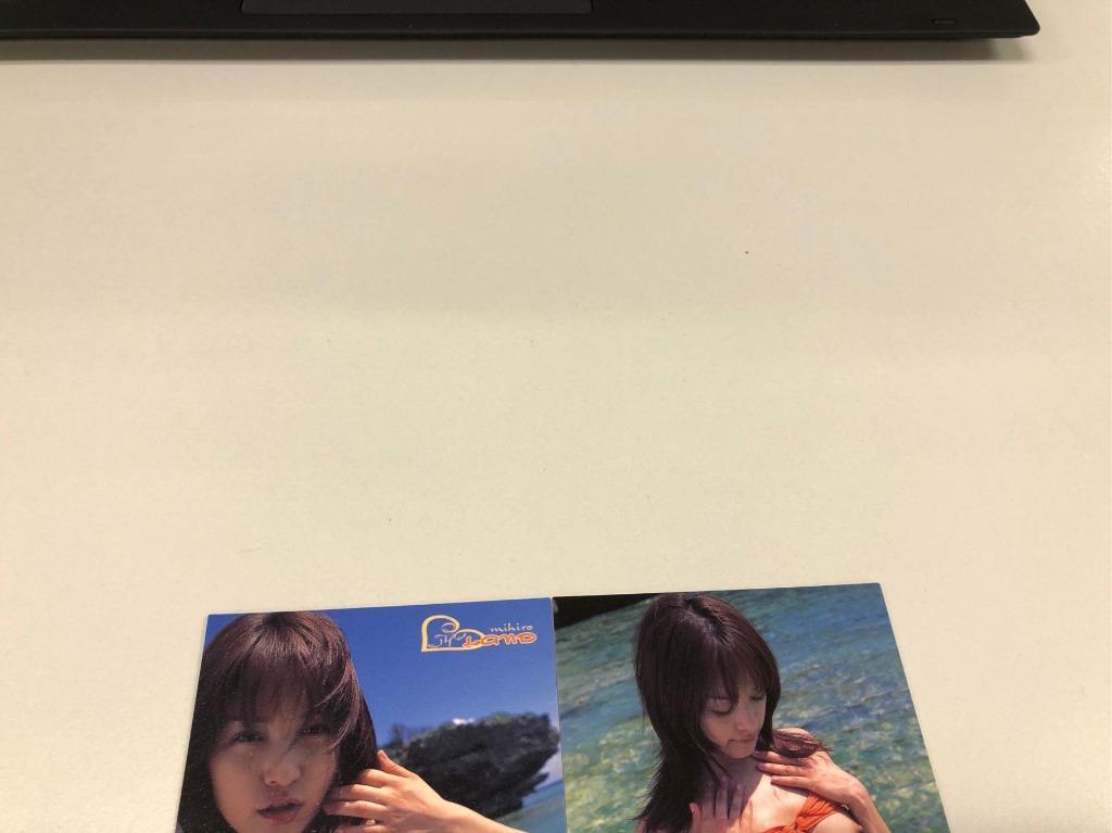 全新 日本 女優 みひろ Mihiro 朝美穗香 Official Card Collection アイ land Regular 白卡 共5張咭