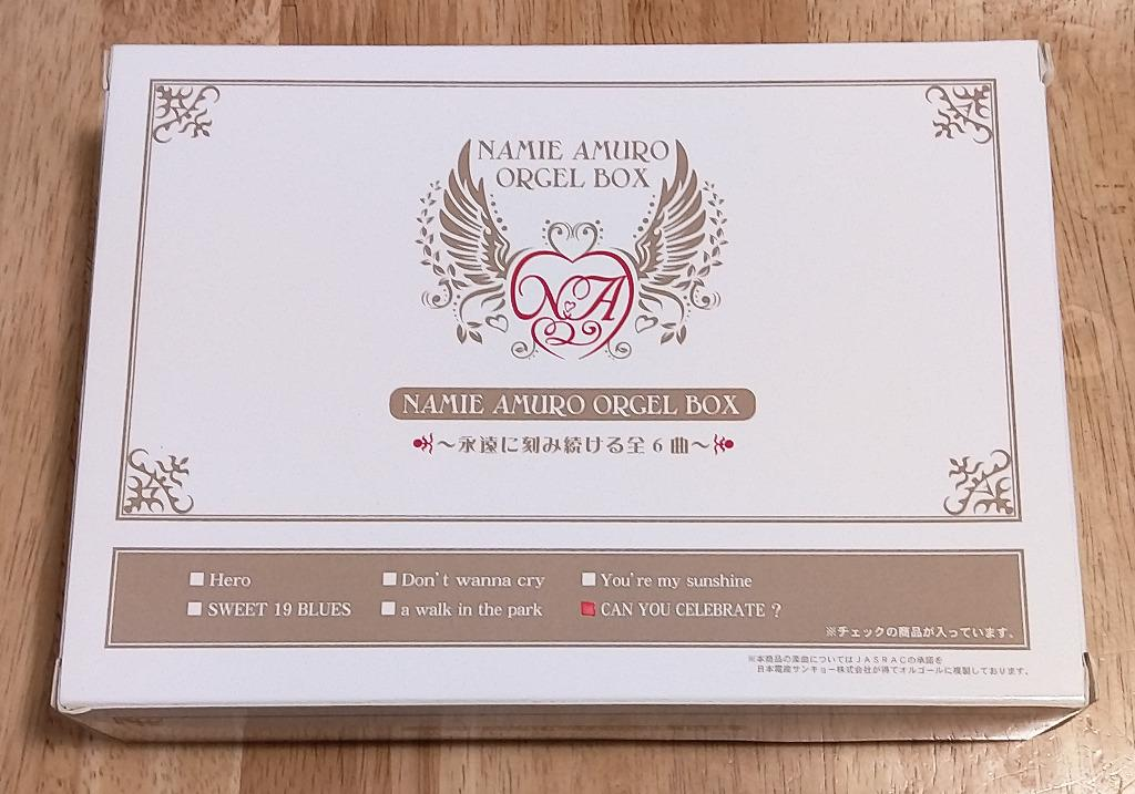 安室奈美恵 / 安室奈美惠 / Namie Amuro - CAN YOU CELEBRATE? 音樂盒 (永遠に刻み続ける全 6 曲)