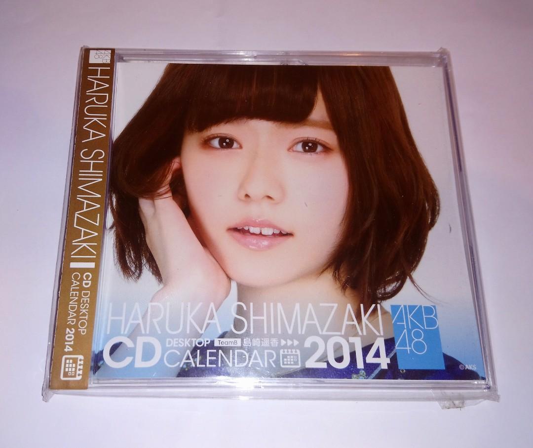 全新未開封 AKB48 島崎遥香 2014 年 CD 桌上月曆