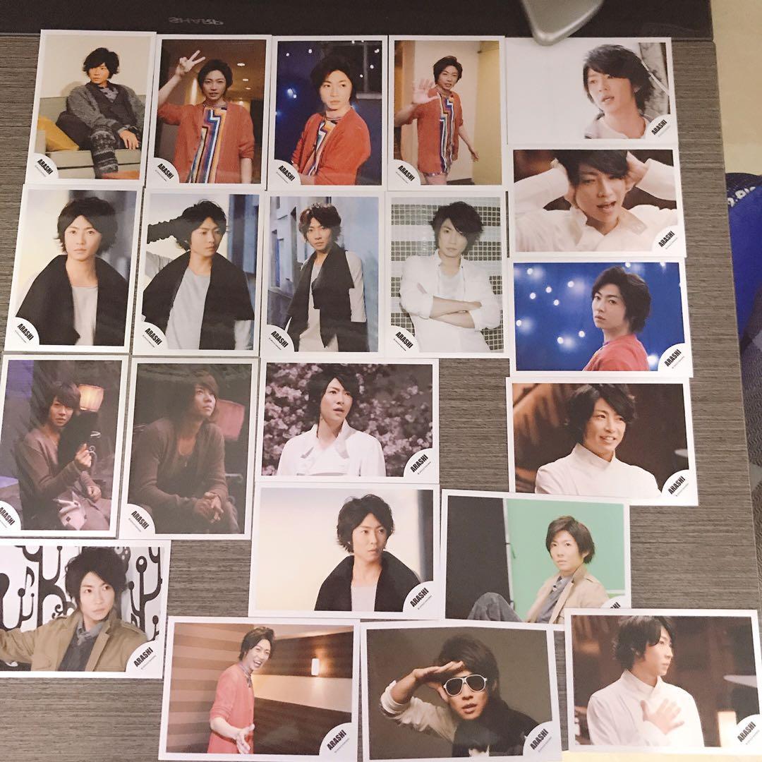 嵐 arashi 大量 SHOP相 演唱會場限相 生寫 櫻井翔 松本潤 大野智 二宮和也 相葉雅紀 櫻二 觀星
