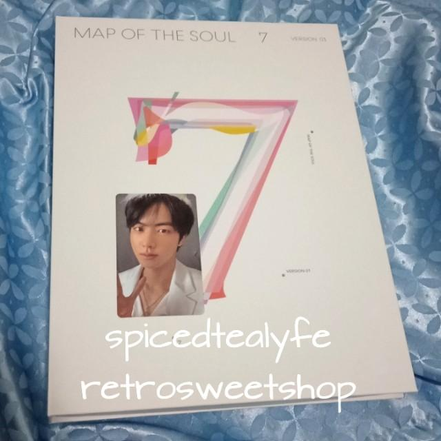 🇲🇾 [WTS] #BTS ALBUM 'Map of The Soul:7' (Unsealed)