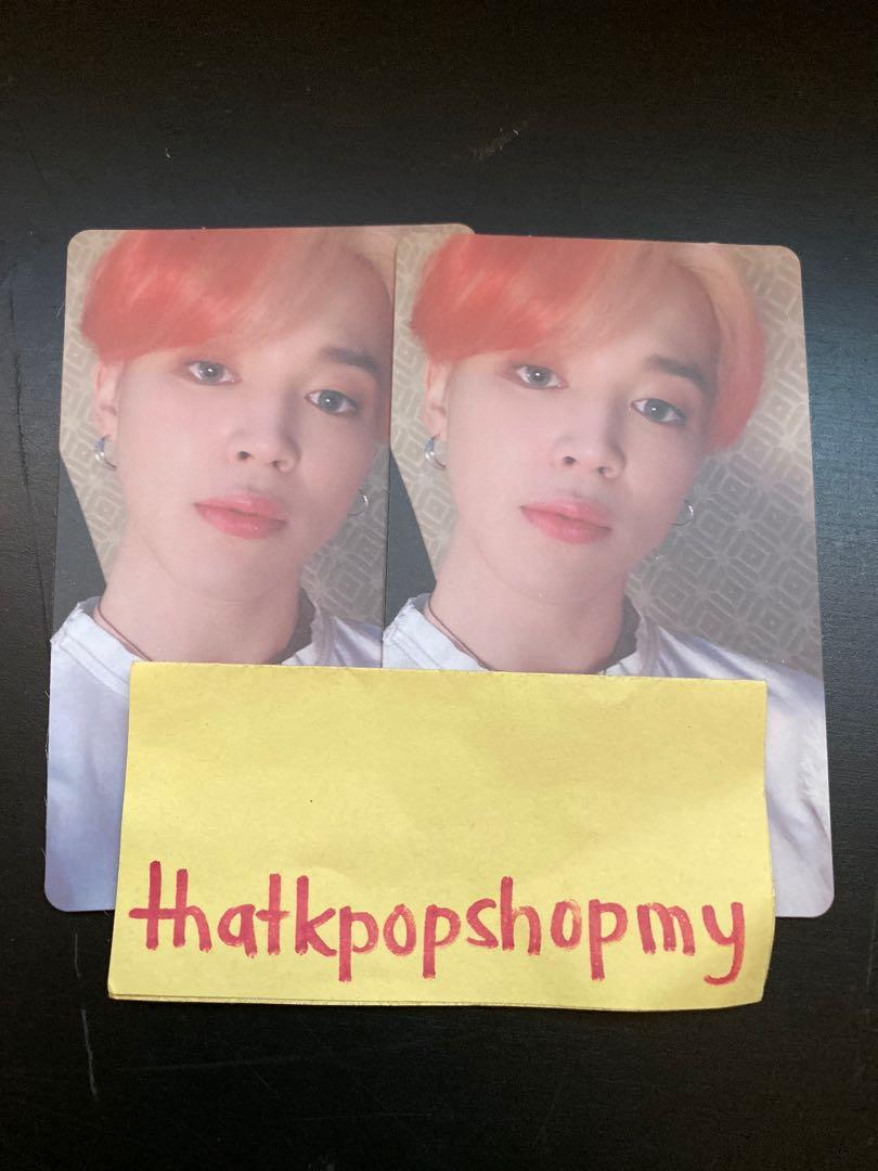 BTS MAP OF THE SOUL: PERSONA VERSION 3 JIMIN PHOTOCARD